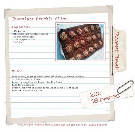 Chocolatefreckleslice