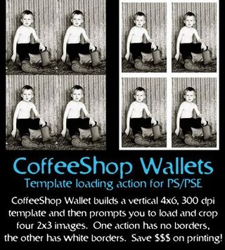 CoffeeShop Wallets action in action
