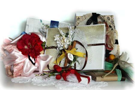 Vintage gift wrap by Rachel Tucker