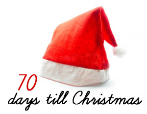 Until Christmas 70 Days Till Christmas.A Collection Of Thoughts Christmas Countdown Girls Gifts